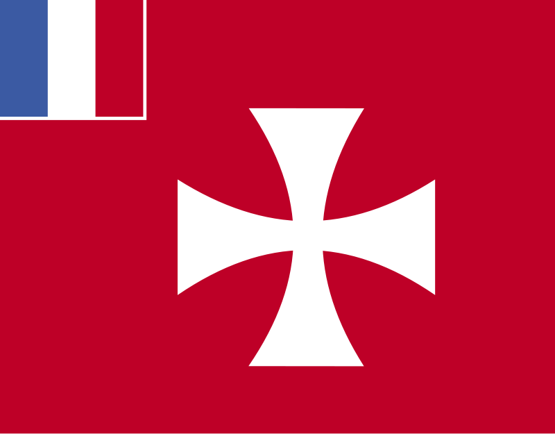 Free Clipart: Flag of France Wallis and Futuna.