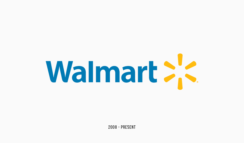 The history of Walmart and their logo design.