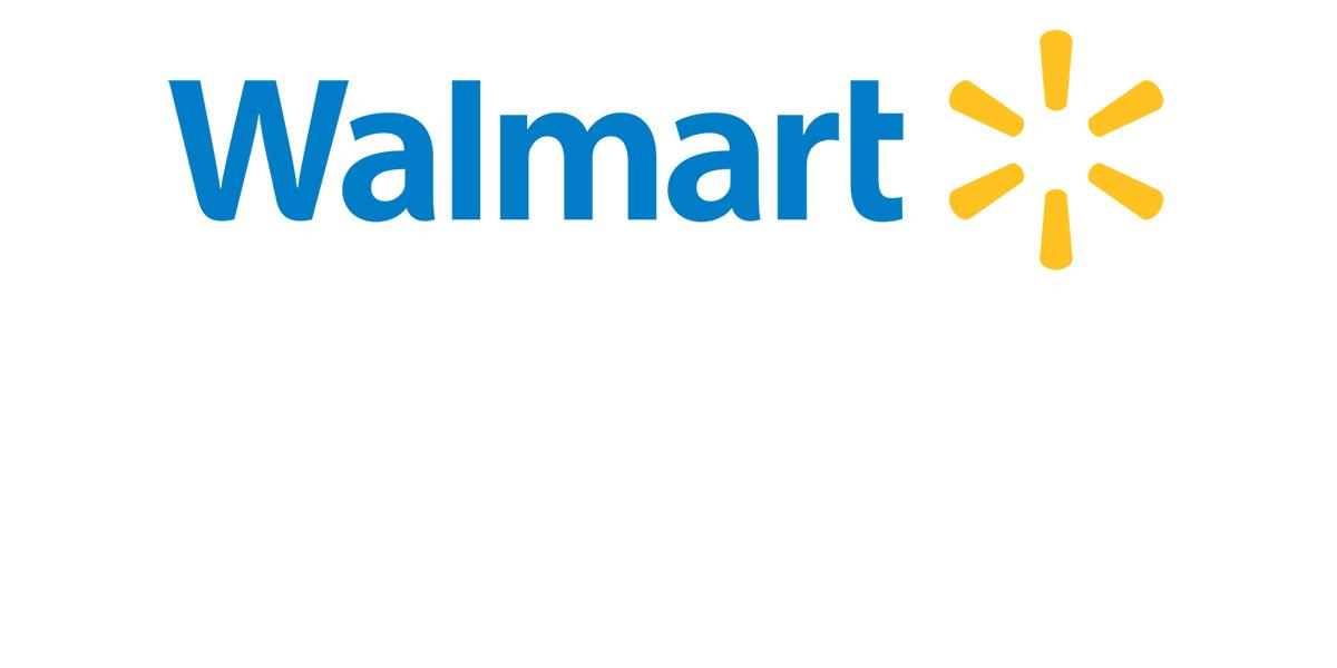 Walmart logo.