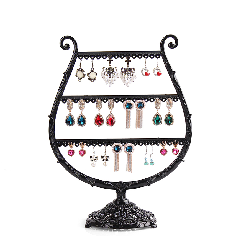 Online Get Cheap Wrought Iron Necklace Display.