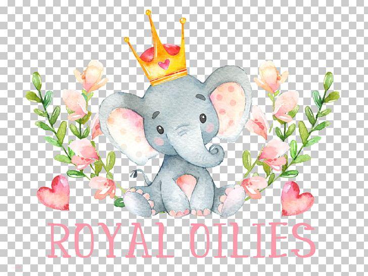 Baby Shower Wedding Invitation Infant Child Elephantidae PNG.