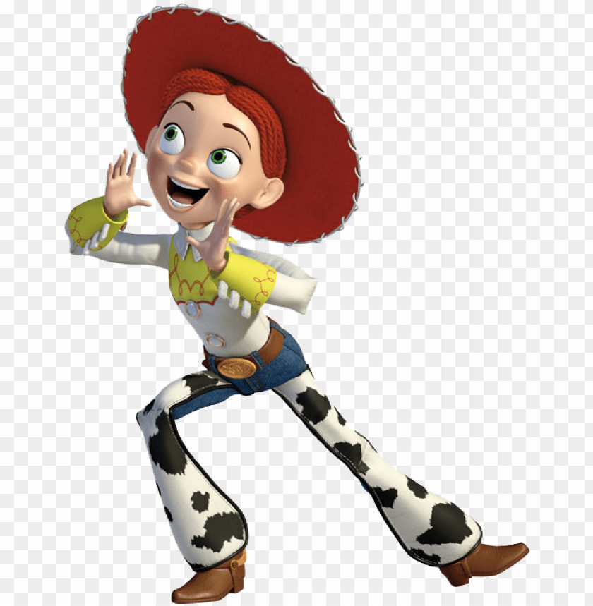 jessie toy story PNG image with transparent background.