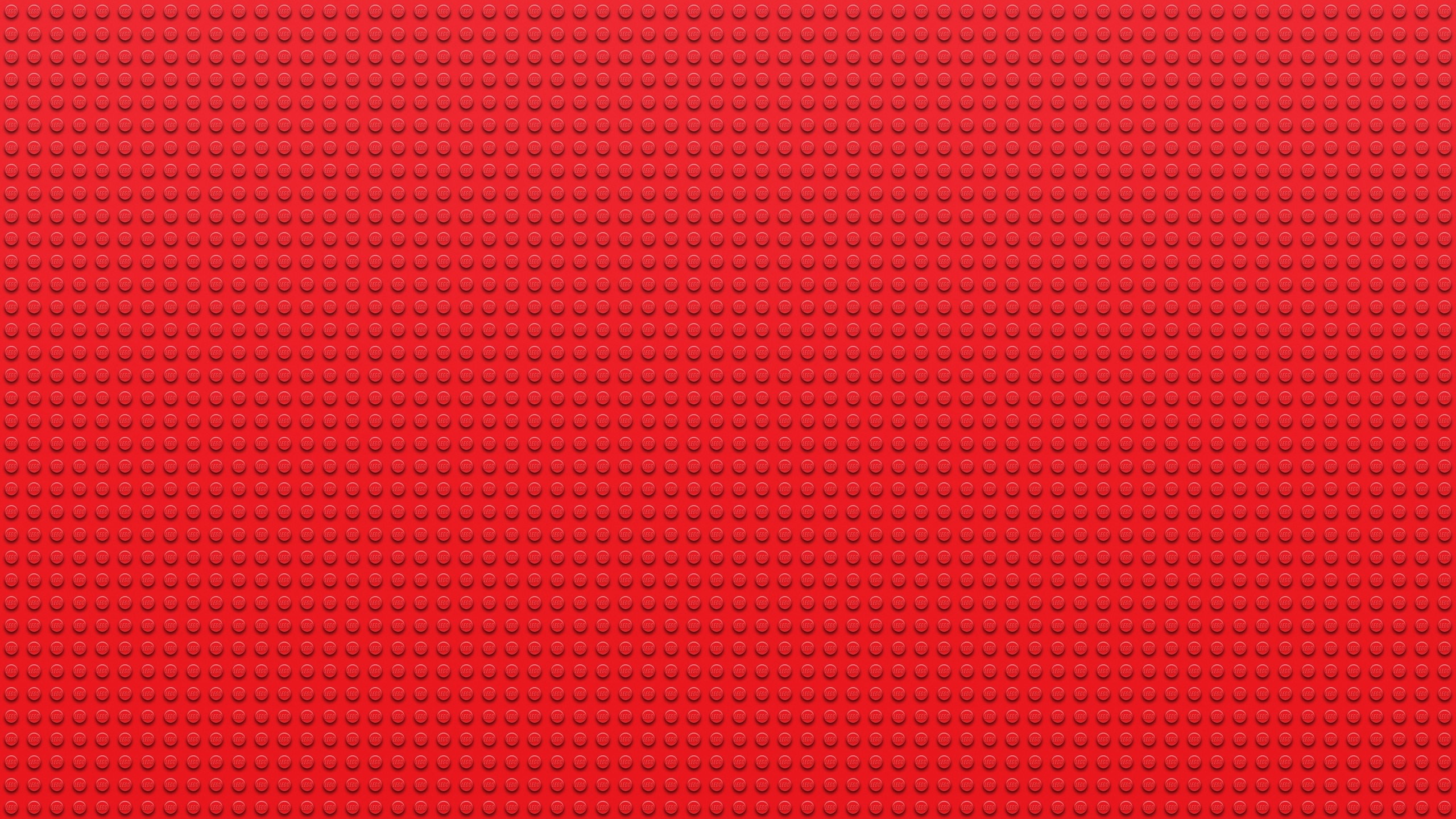 Download wallpaper 2560x1440 lego, points, circles, red.