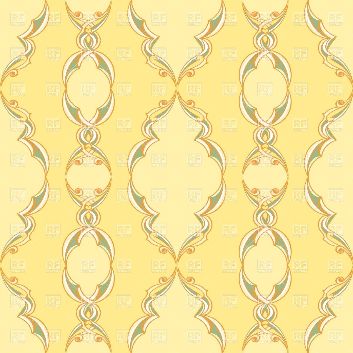 Vintage wallpaper pattern Vector Image #7921.