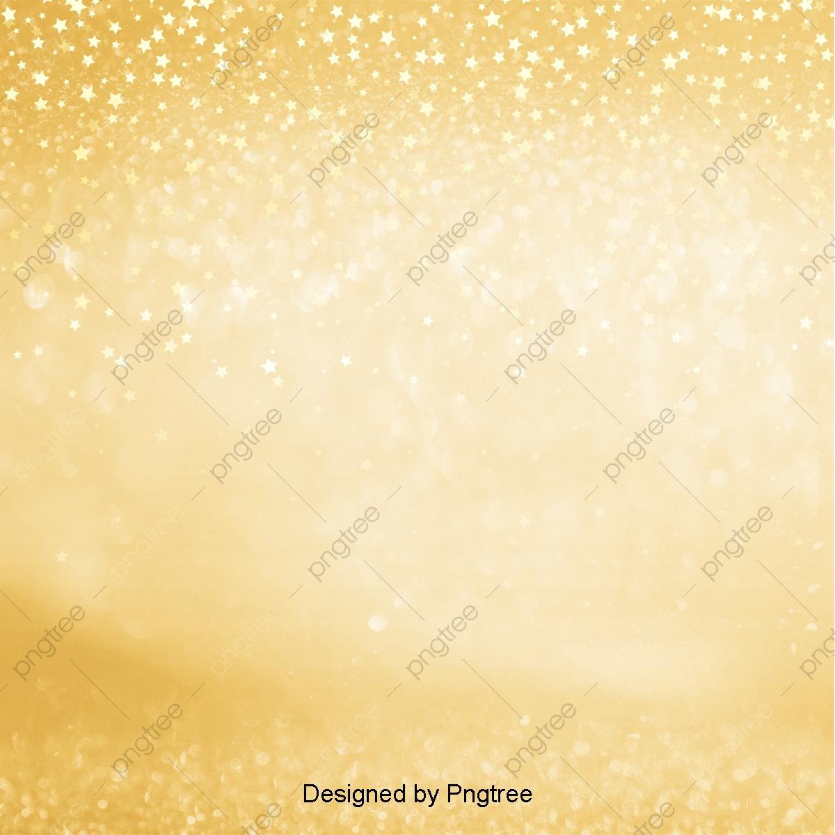 Golden Sprinkler Background Wallpaper Style Design, Light And Shadow.