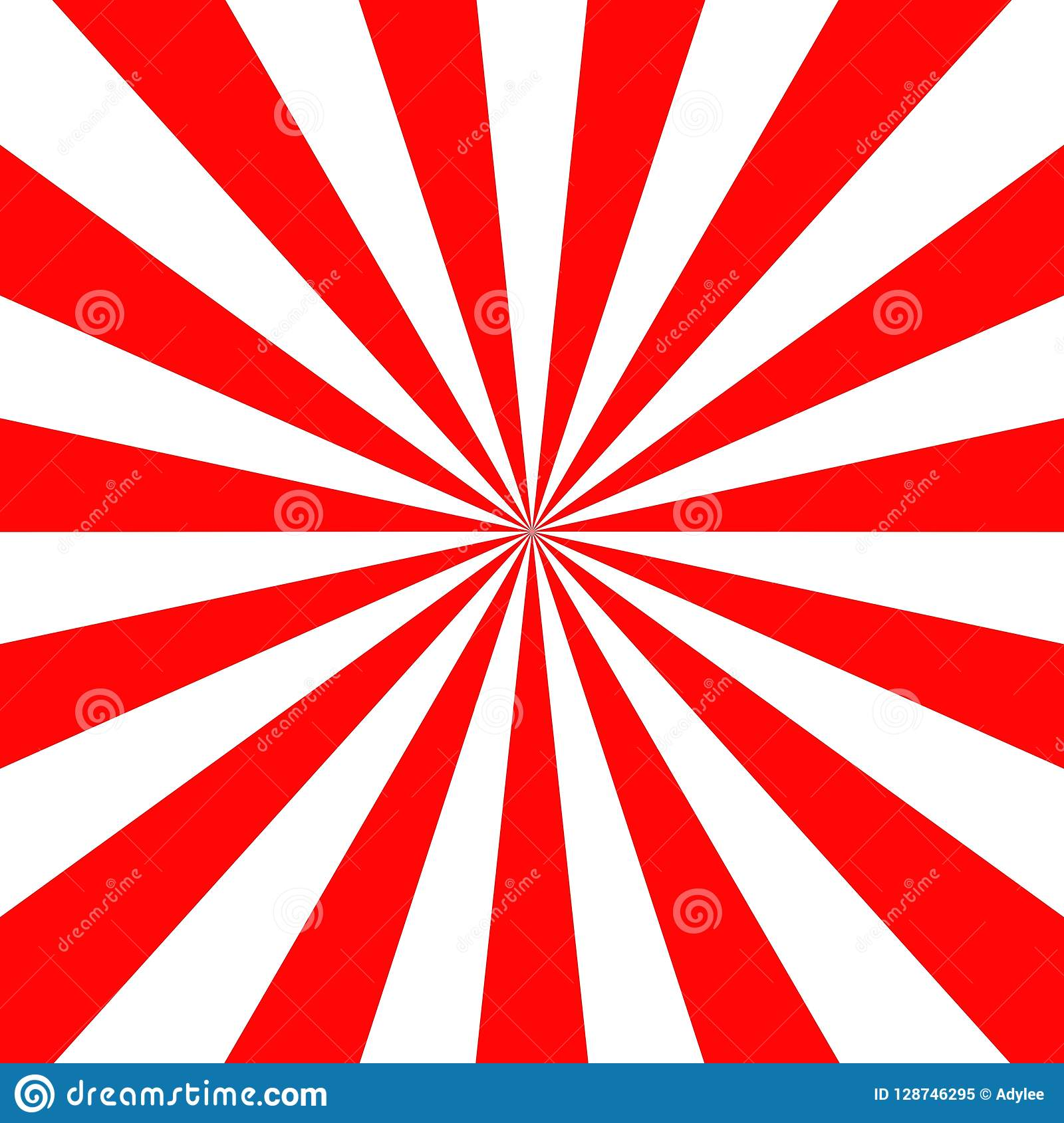 Stock Vector Japan Red Sun Wallpaper Background Vector Illustration.