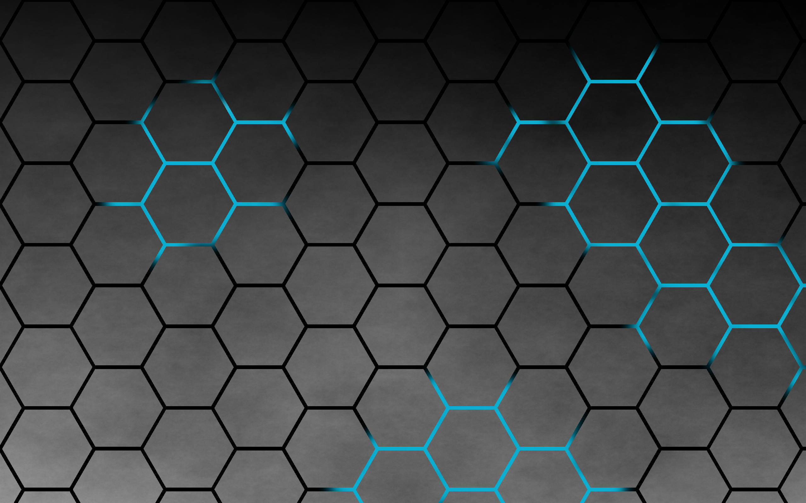 Hexagon HD Wallpaper.