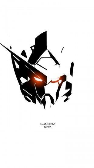 Wallpaper shadows clipart clipground gundam exia shadow httptheiphonewallsgundam voltagebd Images