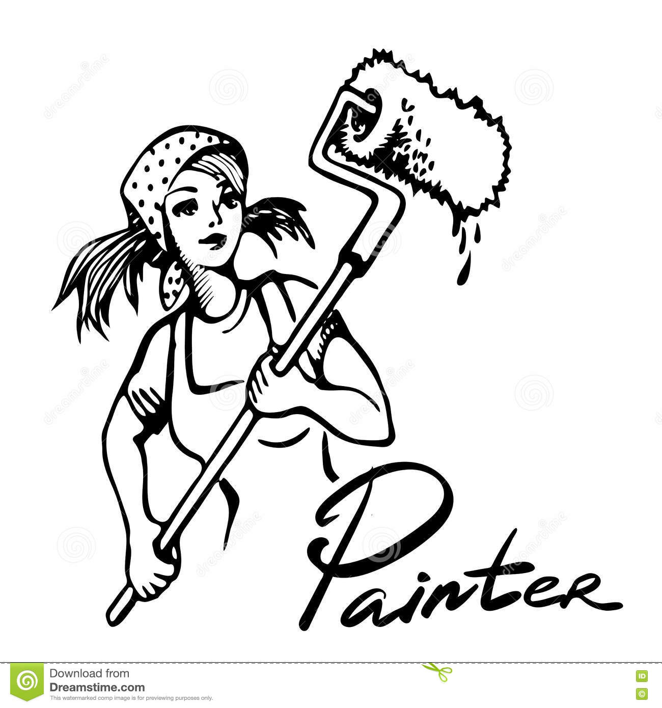 Wallpapering clipart 4 » Clipart Station.
