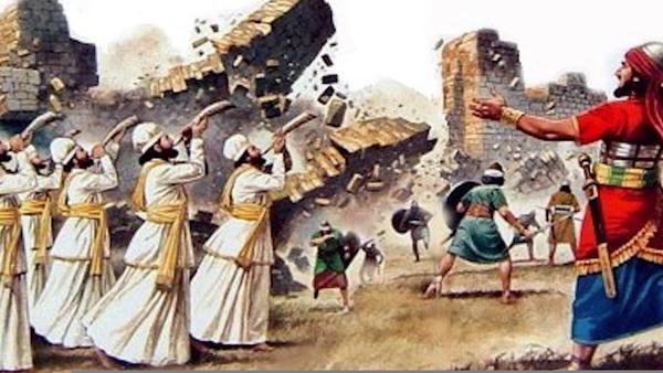 Walls Of Jericho Clipart.