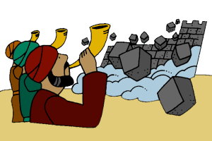Fall of Jericho.