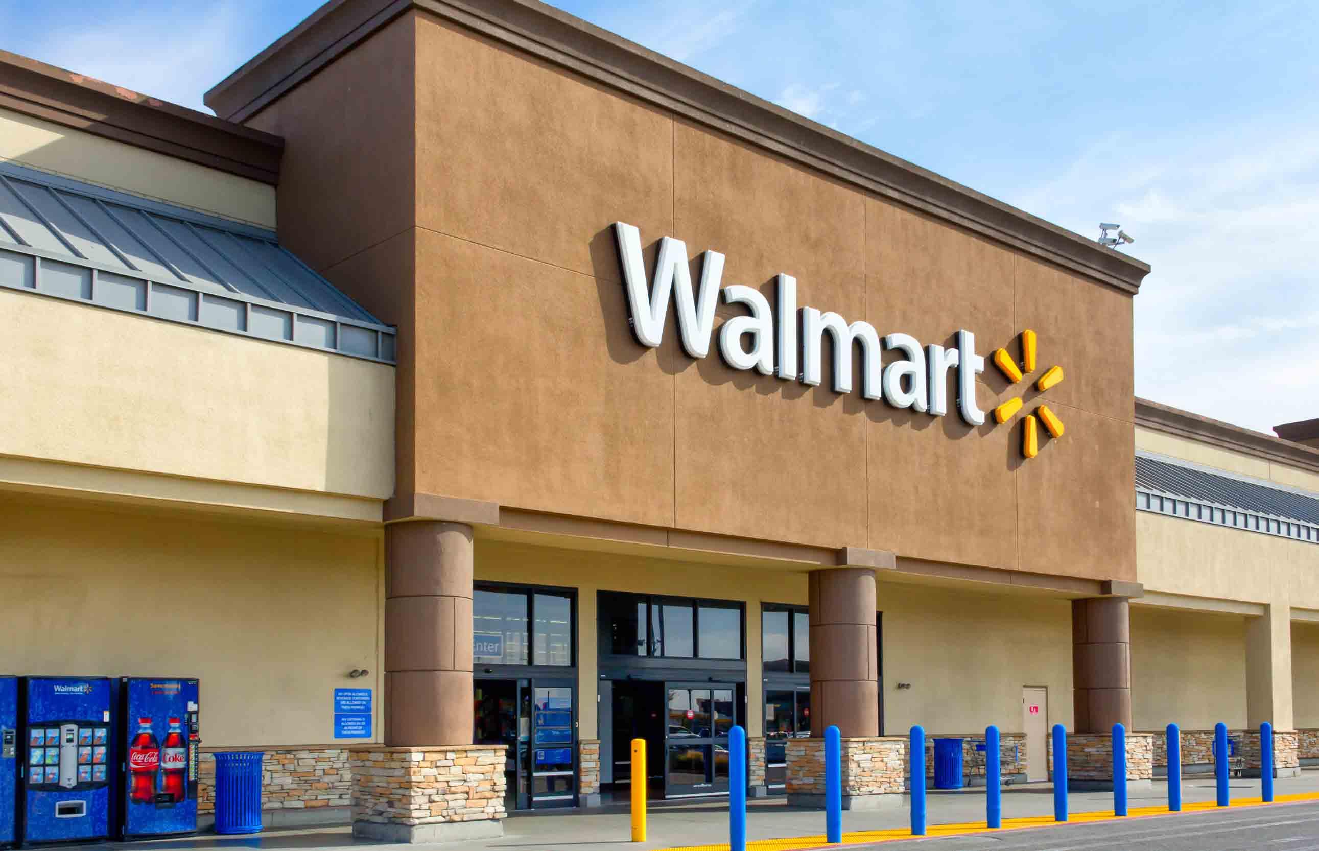 Walmart Store Clipart.