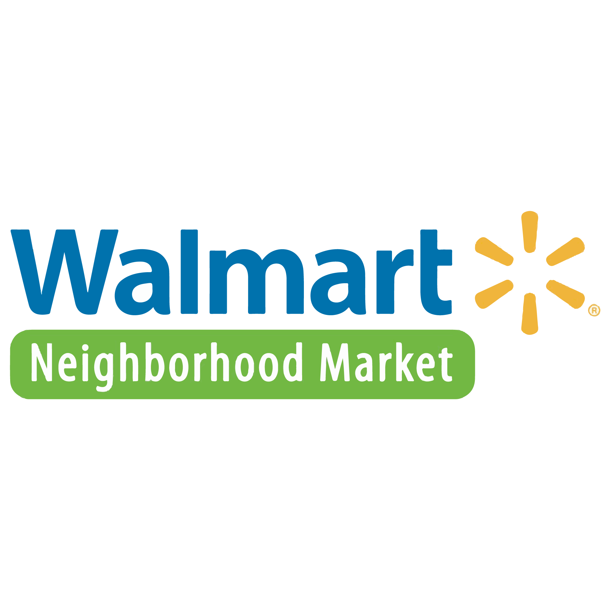 Walmart Neighborhood Market Logo Image Product.