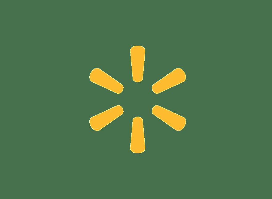 Walmart Logo transparent PNG.