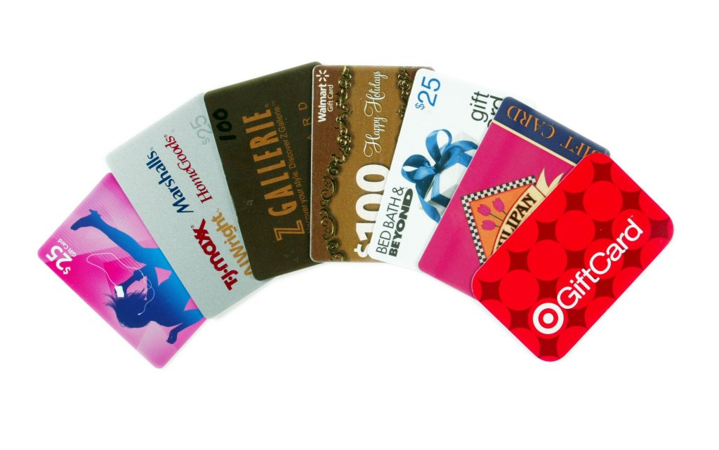 Clipart Gift Card.