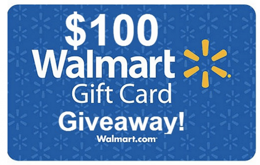 HOT* ENTER to WIN a $100 Walmart Gift Card (750 Winners!).