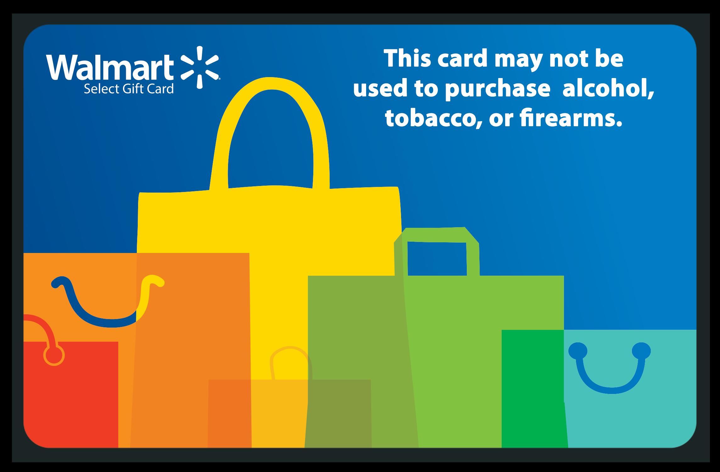 Walmart Gift Card.