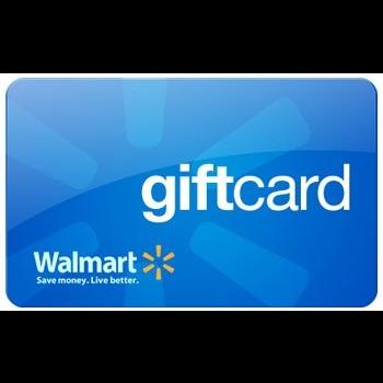 $25.00 walmart gift card usa.