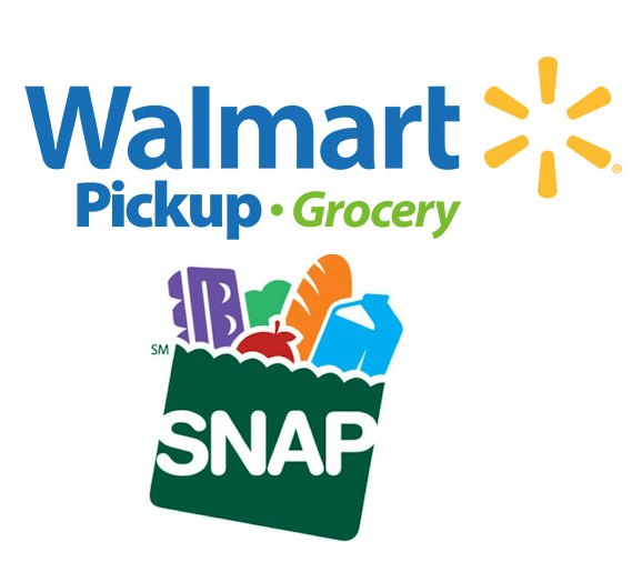 EBT Cards now accepted for Walmart Grocery Pickup.