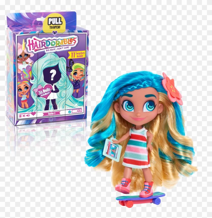 Hairdorables ‐ Collectible Surprise Dolls And Accessories.