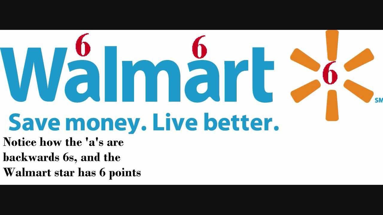 Walmart Subliminal Message 666.