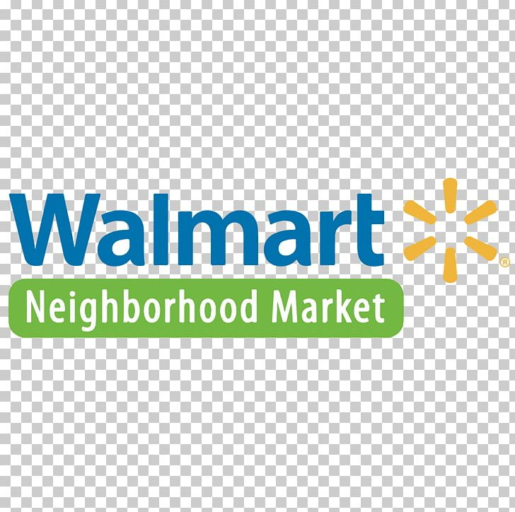 Walmart Neighborhood Market Logo Product PNG, Clipart, Area, Brand.