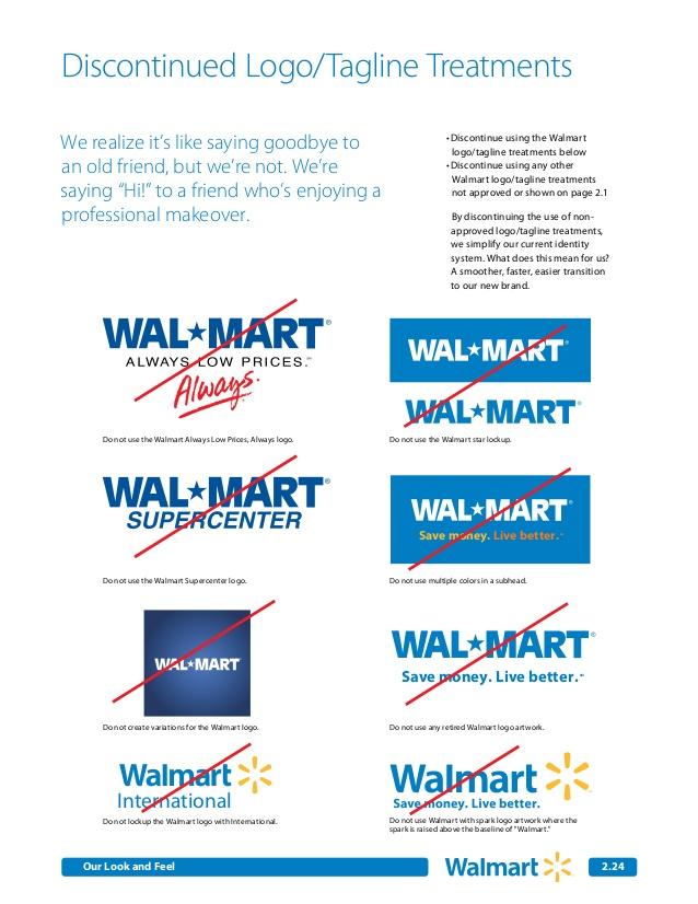 Walmart Brand Guidelines.