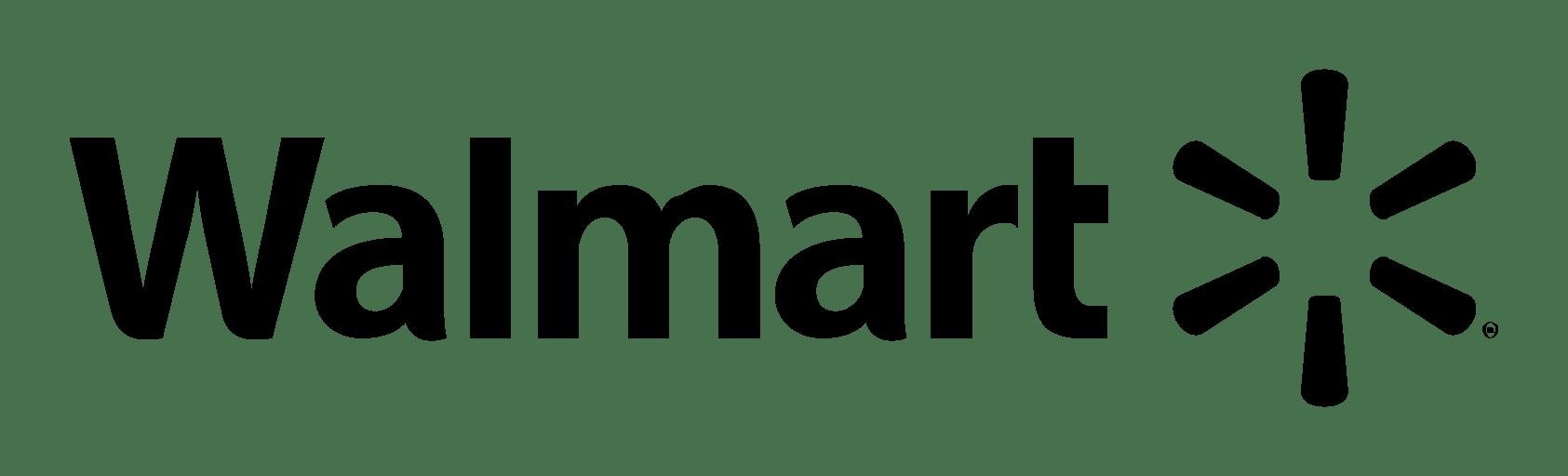 Walmart Logo Text transparent PNG.