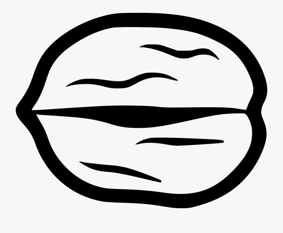 Walnut Black And White Png , Free Transparent Clipart.