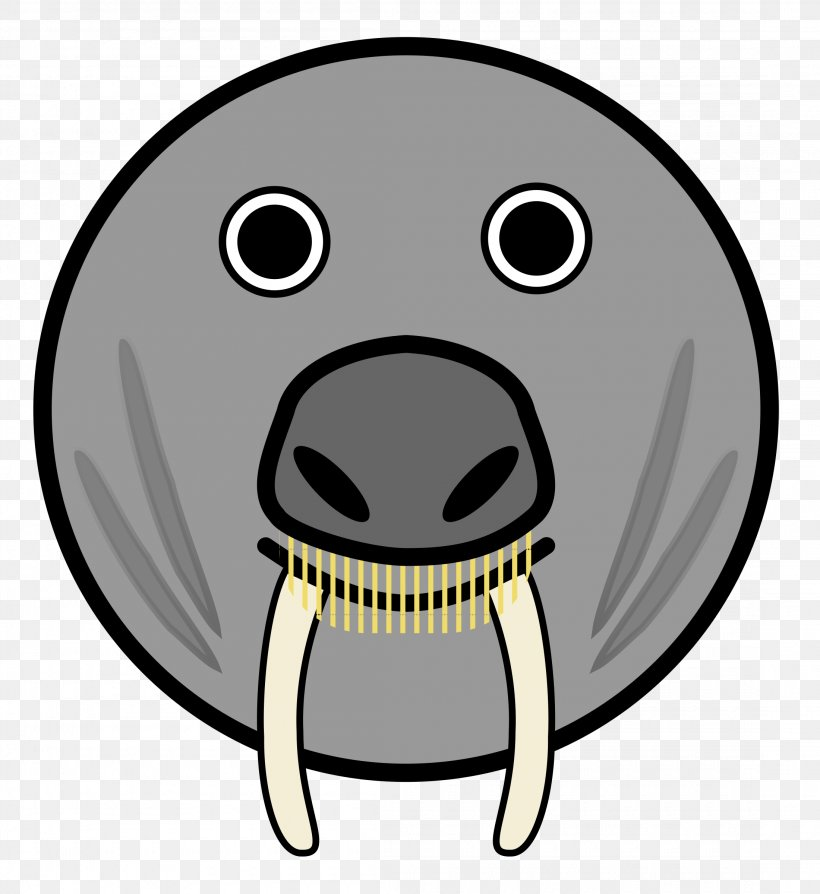 Pinniped Face Cartoon Clip Art, PNG, 2200x2400px, Pinniped.