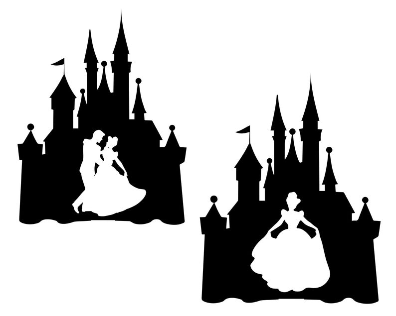 Disney castle svg, Castle clipart, Disney svg, Princess castle, Cinderella  castle, Cinderella svg, Princess Ciderella, Disney vector.