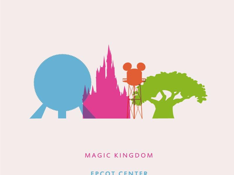 walt disney world castle clipart silhouette #2