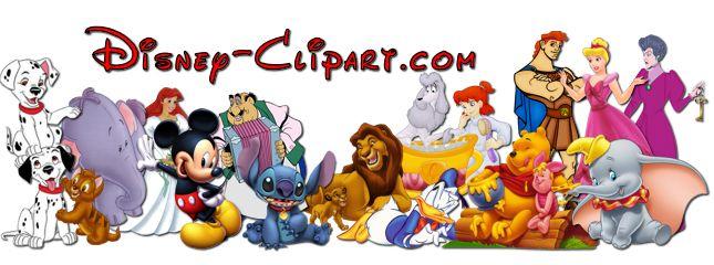 Walt Disney Characters Clipart.