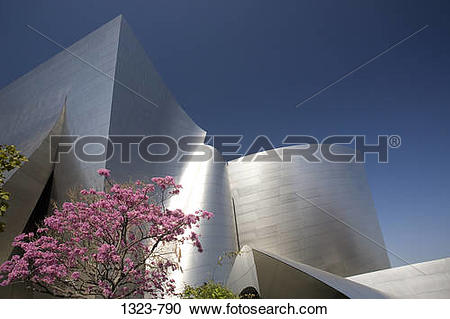 Stock Photography of Low angle view of an entertainment building.