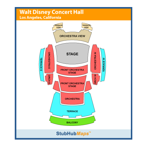 Walt Disney Concert Hall Events and Concerts in Los Angeles.