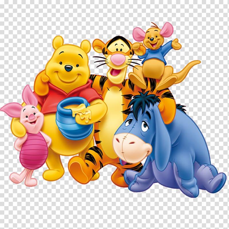 Disney Winnie the Pooh illustration, Winnie.