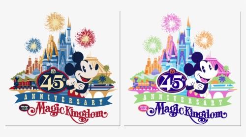 Disney World First Look At Magic Kingdom Th Anniversary.