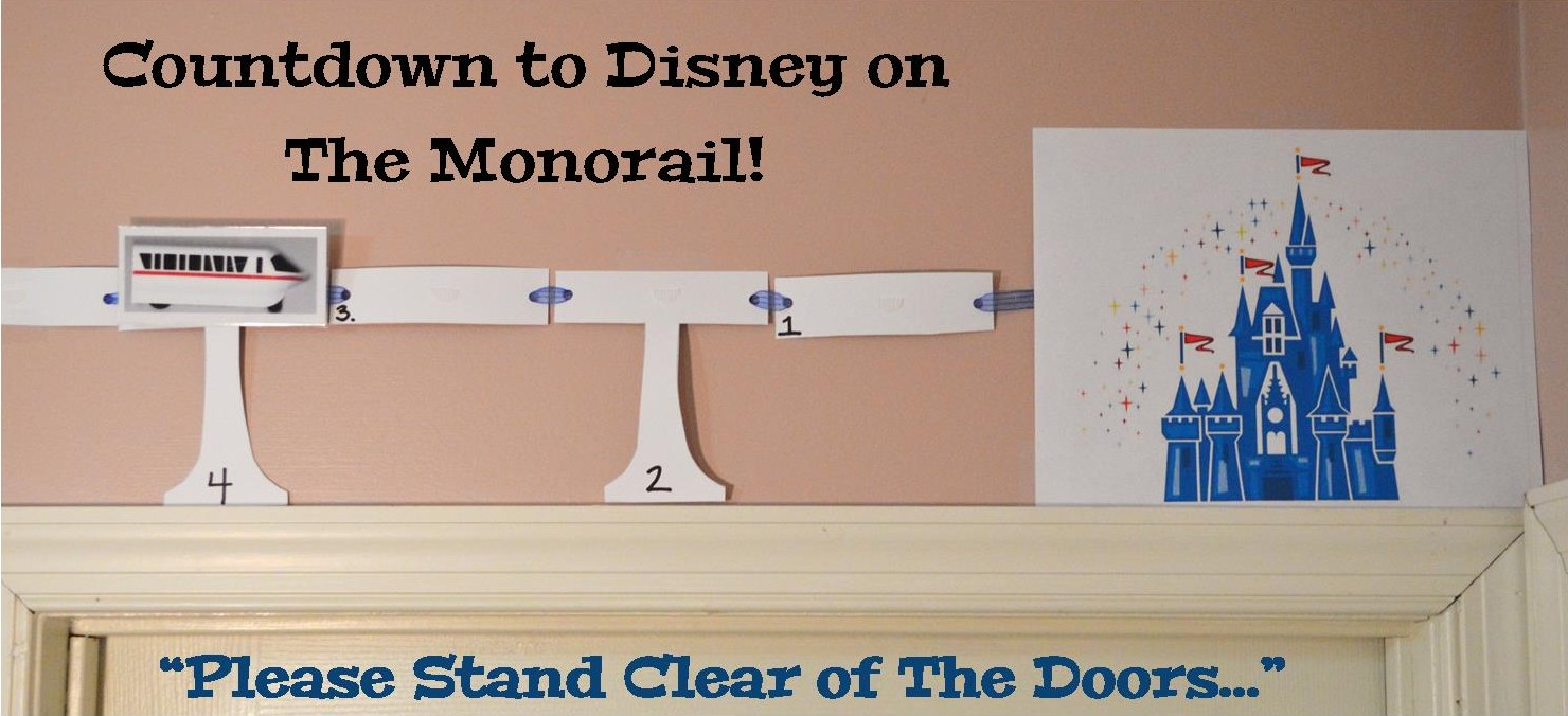 Countdown To Walt Disney World Clipart.
