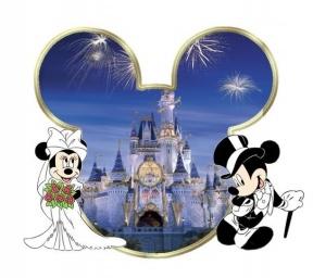 Disney Wedding Wishes Clipart.