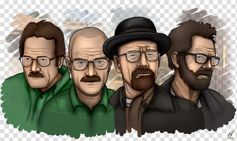 Breaking Bad, The Development of Walter White transparent.