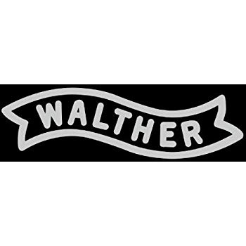 WALTHER LOGO 2ND AMENDMENT RIGHT VINYL STICKERS SYMBOL 6\