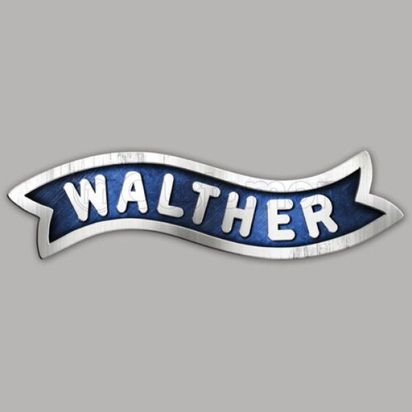 Walther Arms Logo Travel Mug.