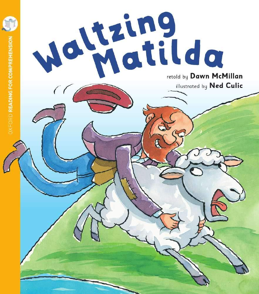 Waltzing Matilda (Pack of 6 with Comprehension Coaching Card.