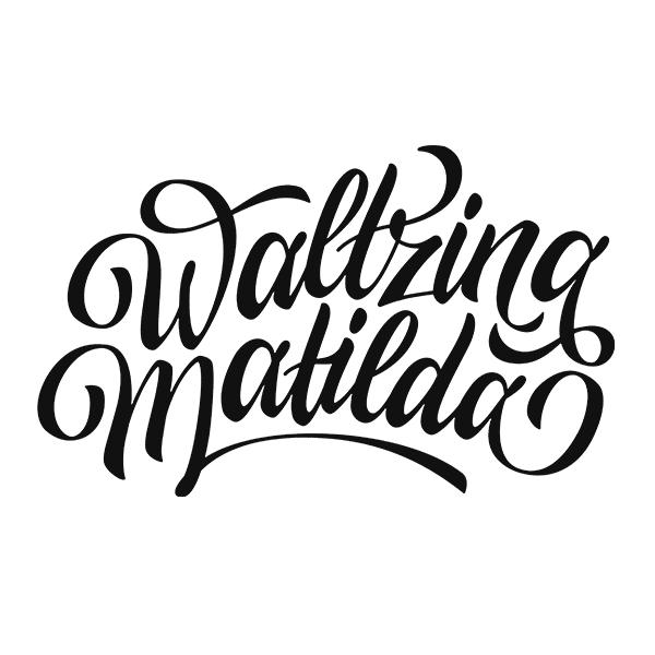 Waltzing Matilda Print on Behance.