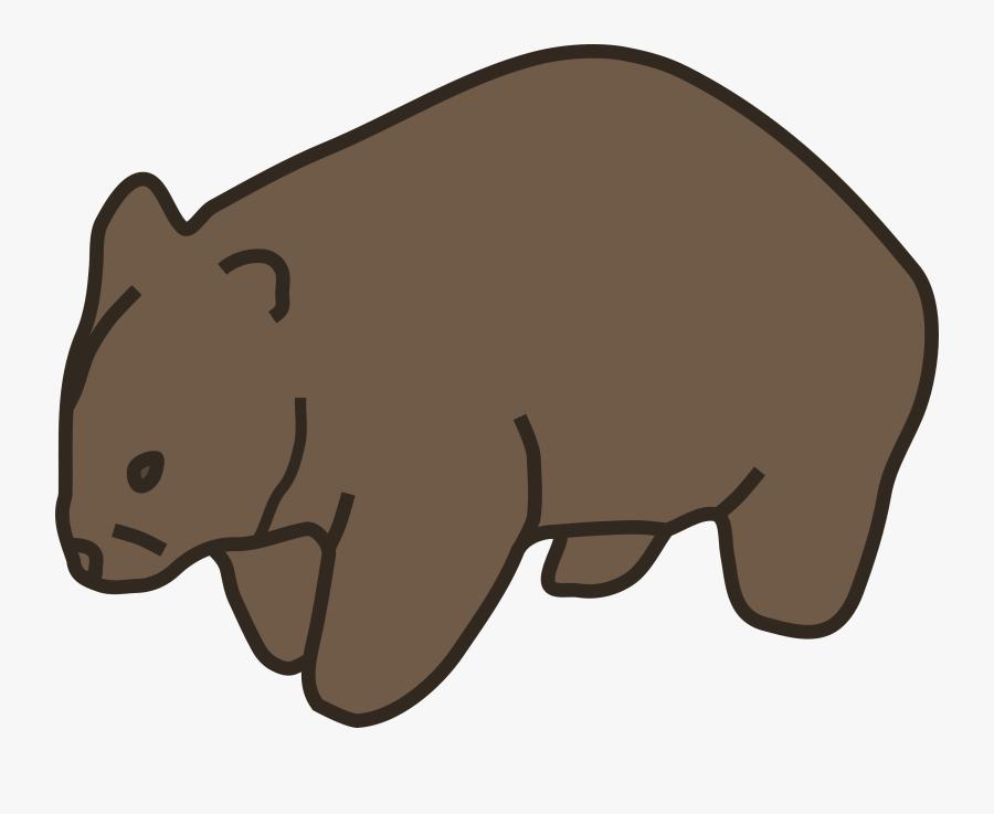 Wombat Clipart.
