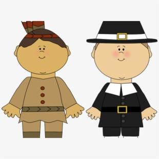Pilgrims Clipart.