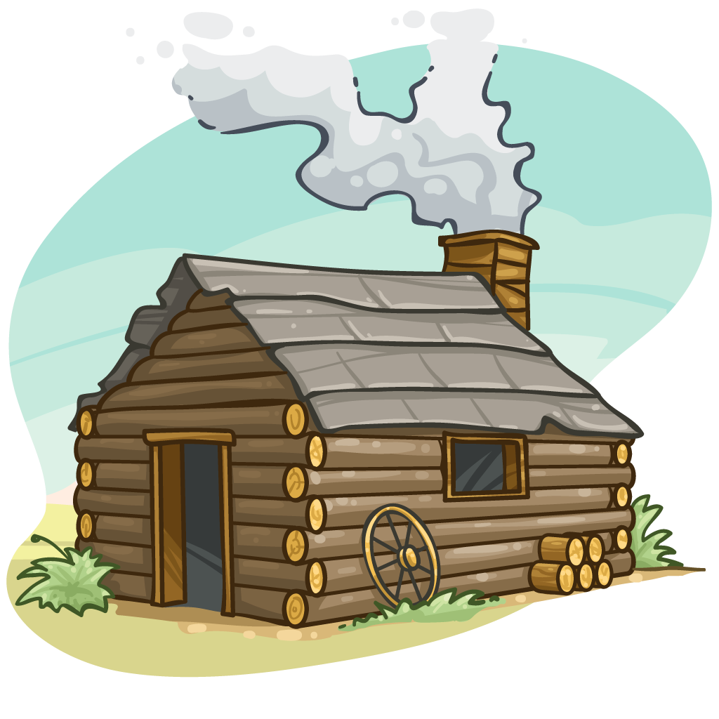 Pilgrims clipart house Transparent pictures on F.