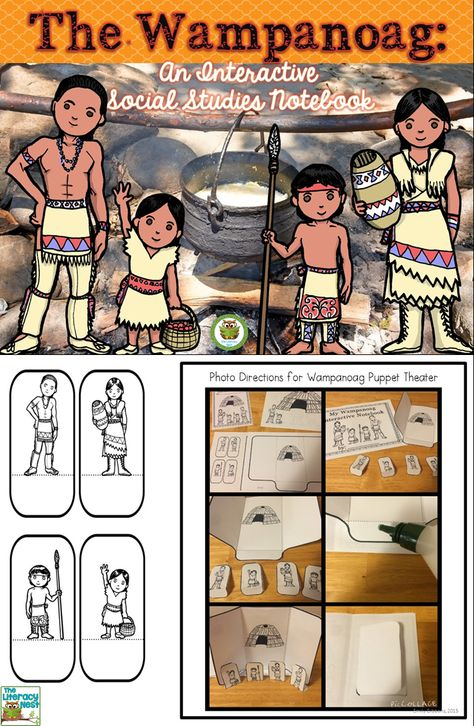 Wampanoag Interactive Notebook.