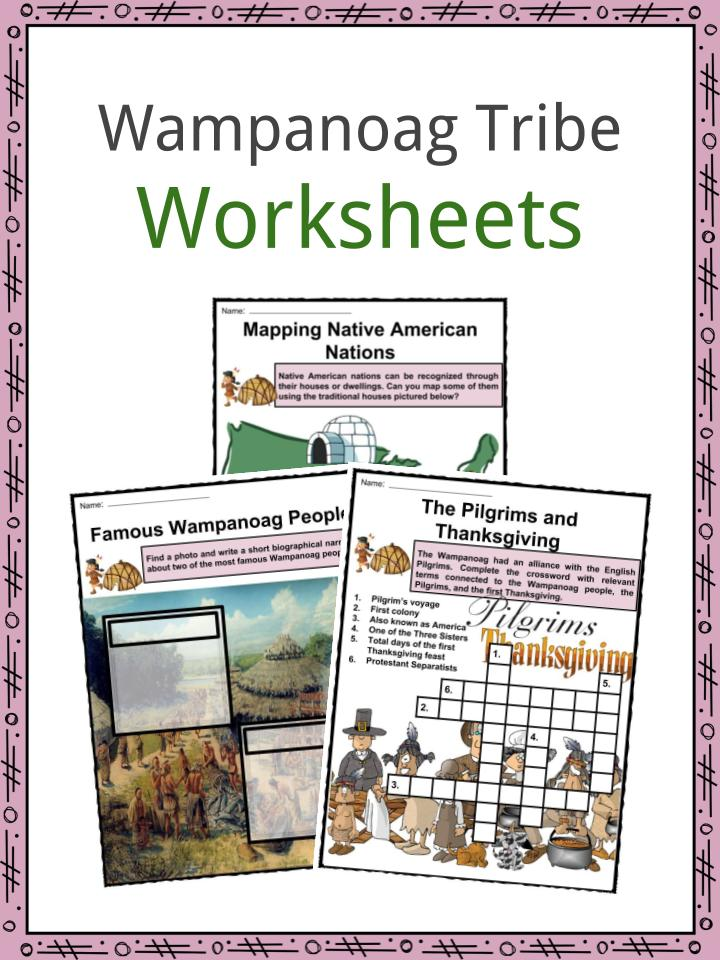 Wampanoag Indians Facts, Worksheets, Culture & History For Kids.
