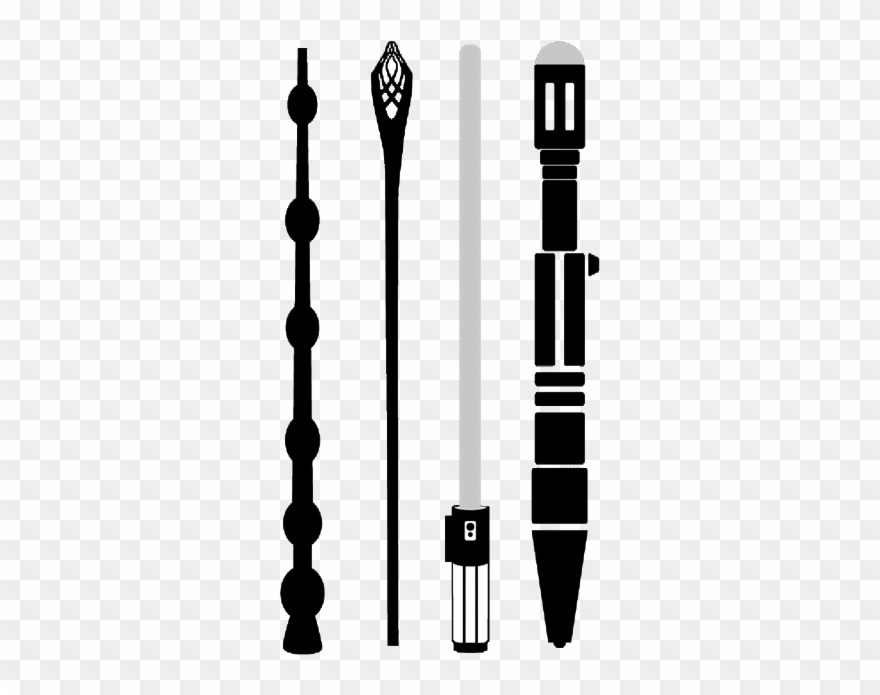 Elder Wand, Gandalf Staff, Light Saber, Sonic Screwdriver.